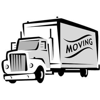See a Moving Van?