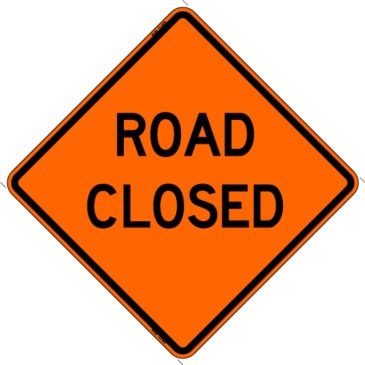 DoubleGate Street Closings